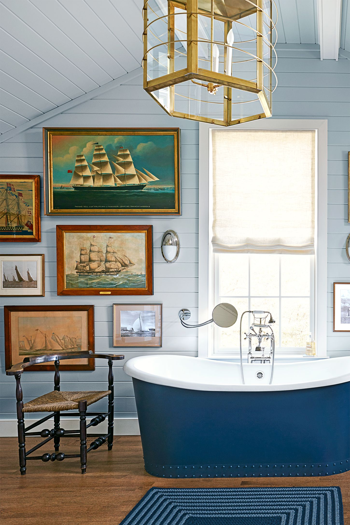 Beach House Decorating   Bathroom