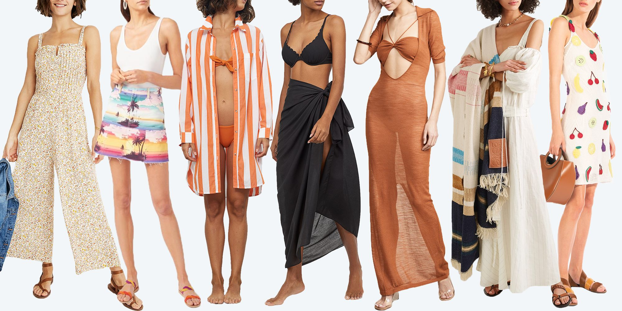 3dc8fc9627 15 Cute Summer Beach Outfits - What to Wear at the Beach This Summer ...