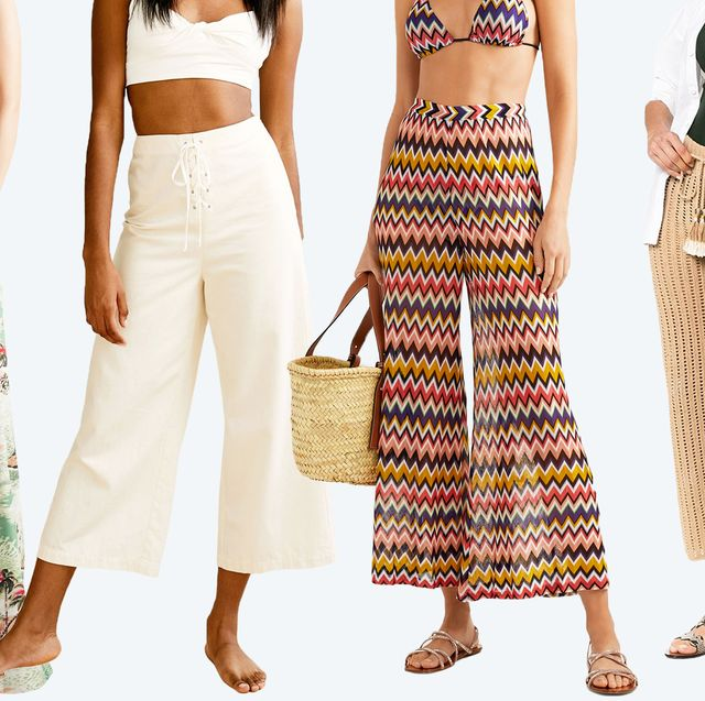 9a3ae25cc4 12 Pairs of Beach Pants That Will Get You Excited for Summer