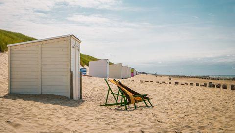 strandstoelen op domburg