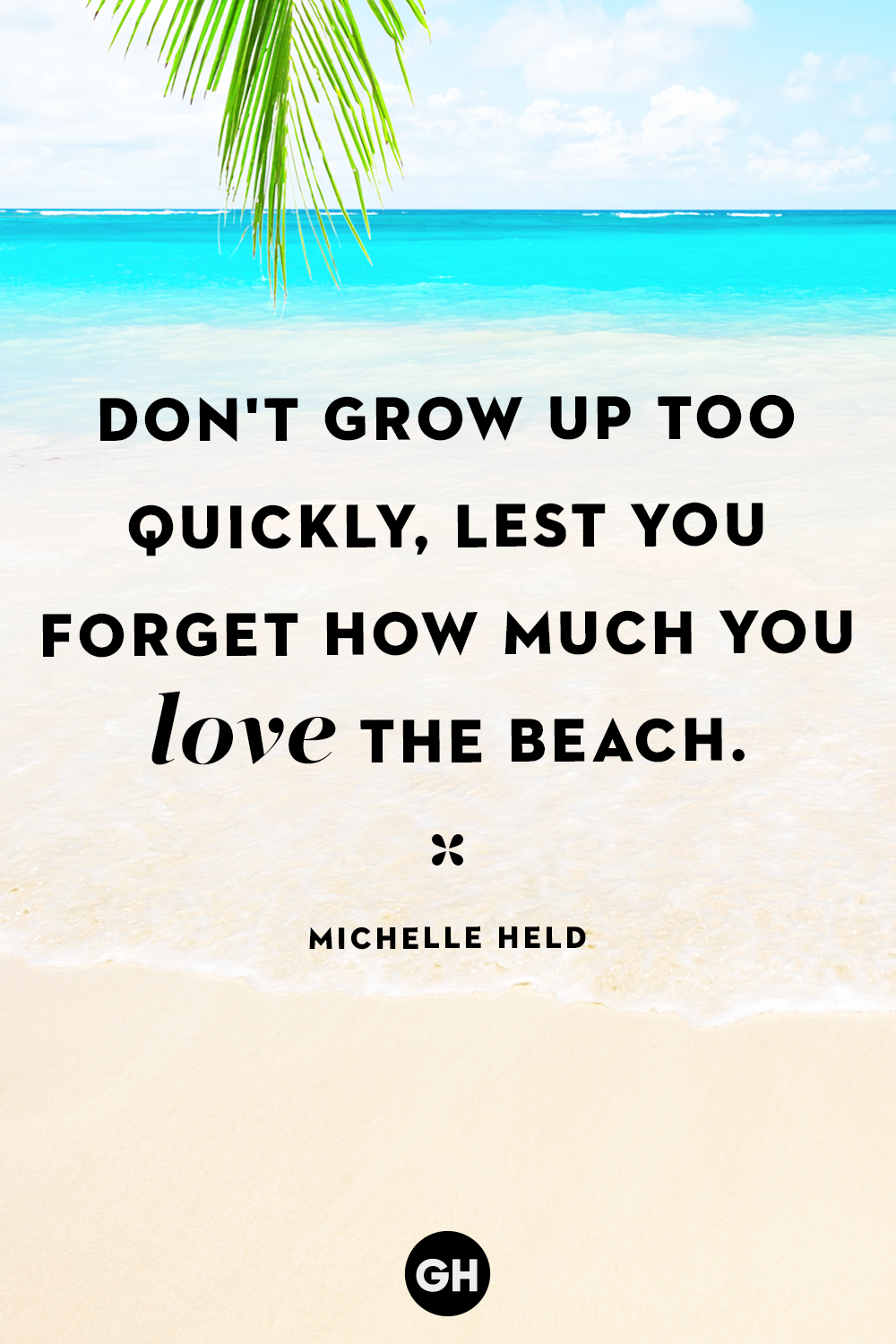 beach quotes michelle held