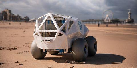 robot recoge colillas