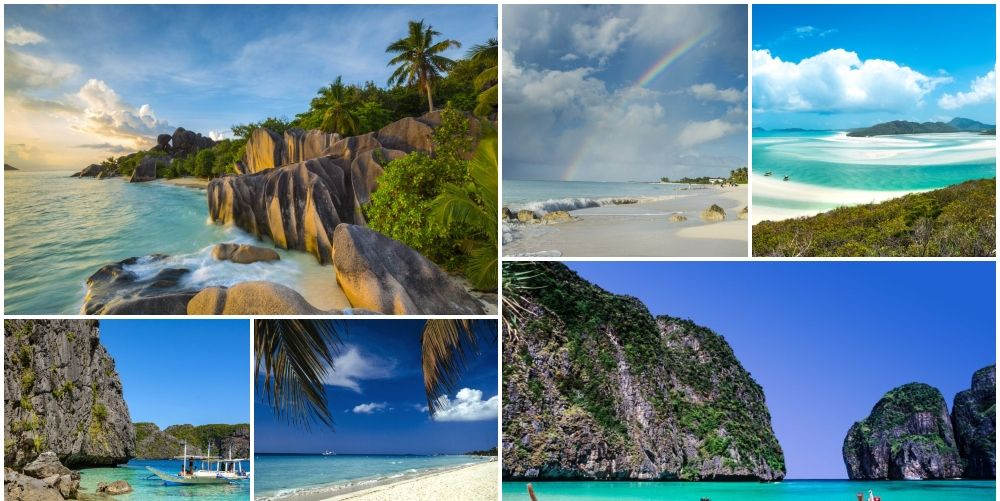 The 50 best beaches in the world have been revealed