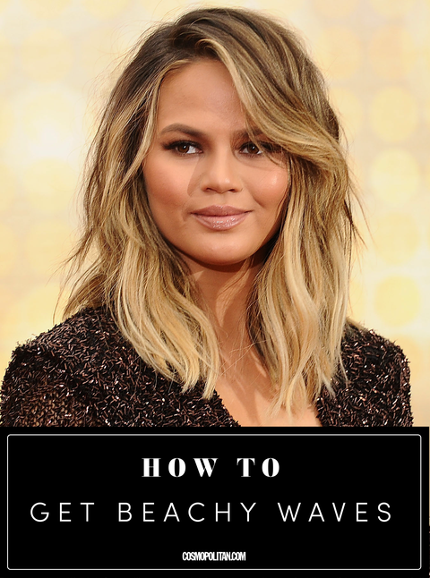 How to Get Beach Waves - Step by Step Beachy Waves Tutorial