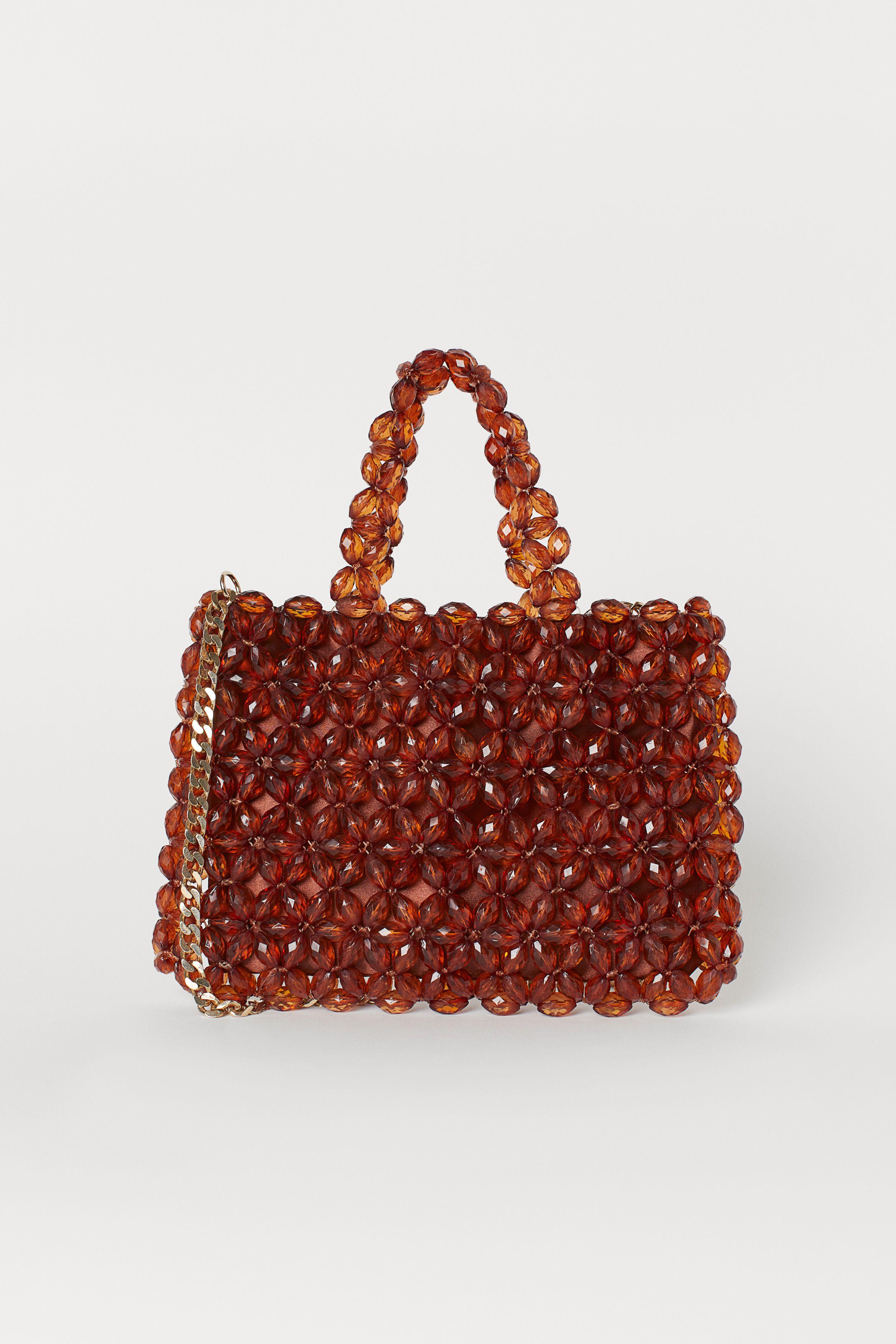 bead embroidered handbag H&M