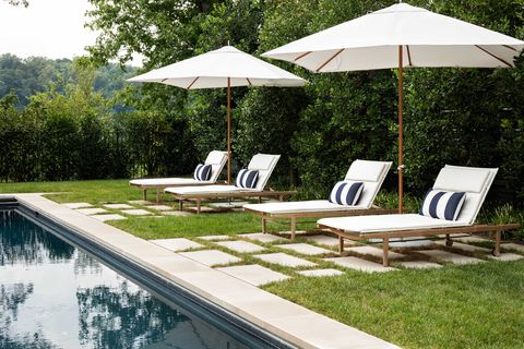 exterior, pool, grass, lounge seats, outdoor seat cushions