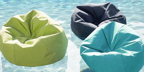 Super These Beanbag Chairs Are Actually Pool Floats For Comfy Drifting Caraccident5 Cool Chair Designs And Ideas Caraccident5Info