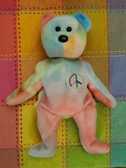 oso de la paz de beanie babies