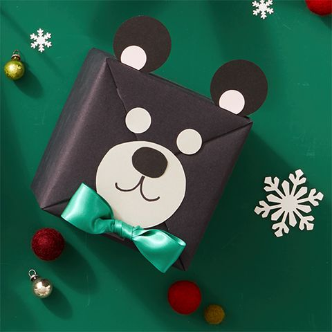 how to make animal gift wrap diy instructions
