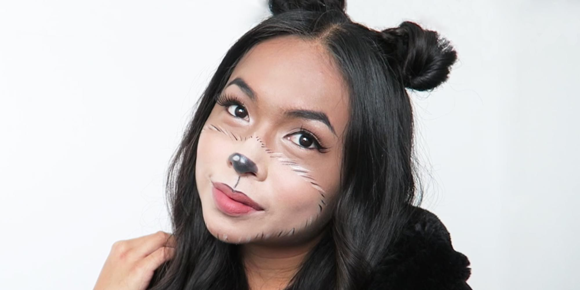 Procrastinators, Listen Up: This Teddy Bear Makeup Look Takes Less Than 10 Minutes