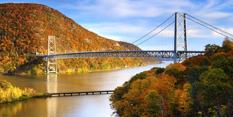 Bear Mountain Bridge Closeup