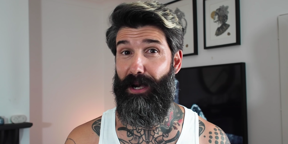 This Beard Model Shaved for the First Time in 10 Years and Stunned His Family