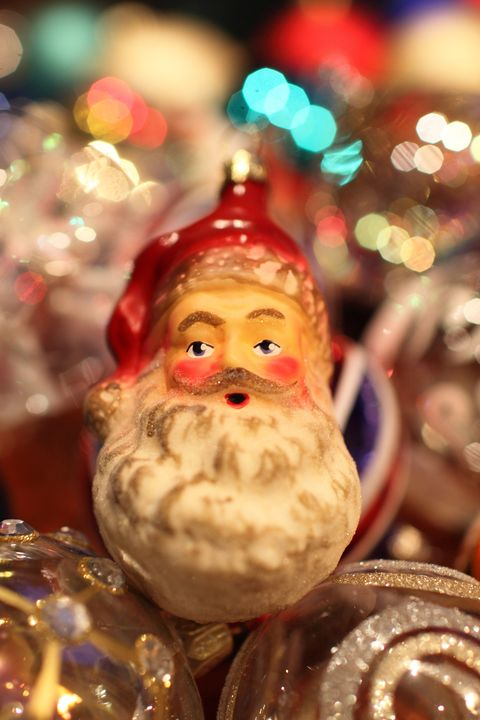 Bearded Santa Claus