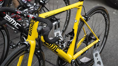 Rohan Dennis' Custom Yellow BMC