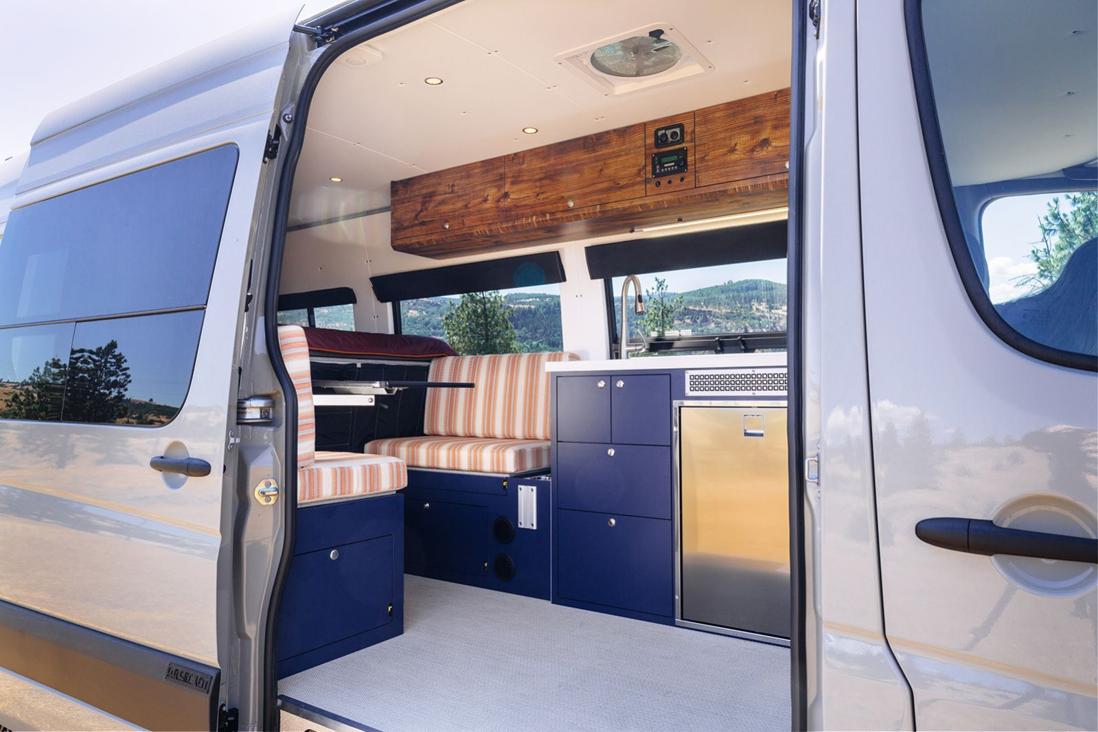 This Company Turns Vans Into Tricked-Out Homes on Wheels