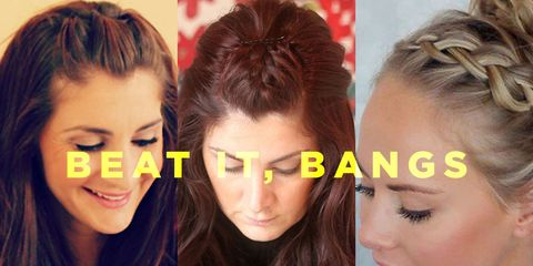 cute ways to style your hair for school hairstyles to keep bangs out of s health 4621 | beat it bangs 1499803744.jpg?crop=1xw:0