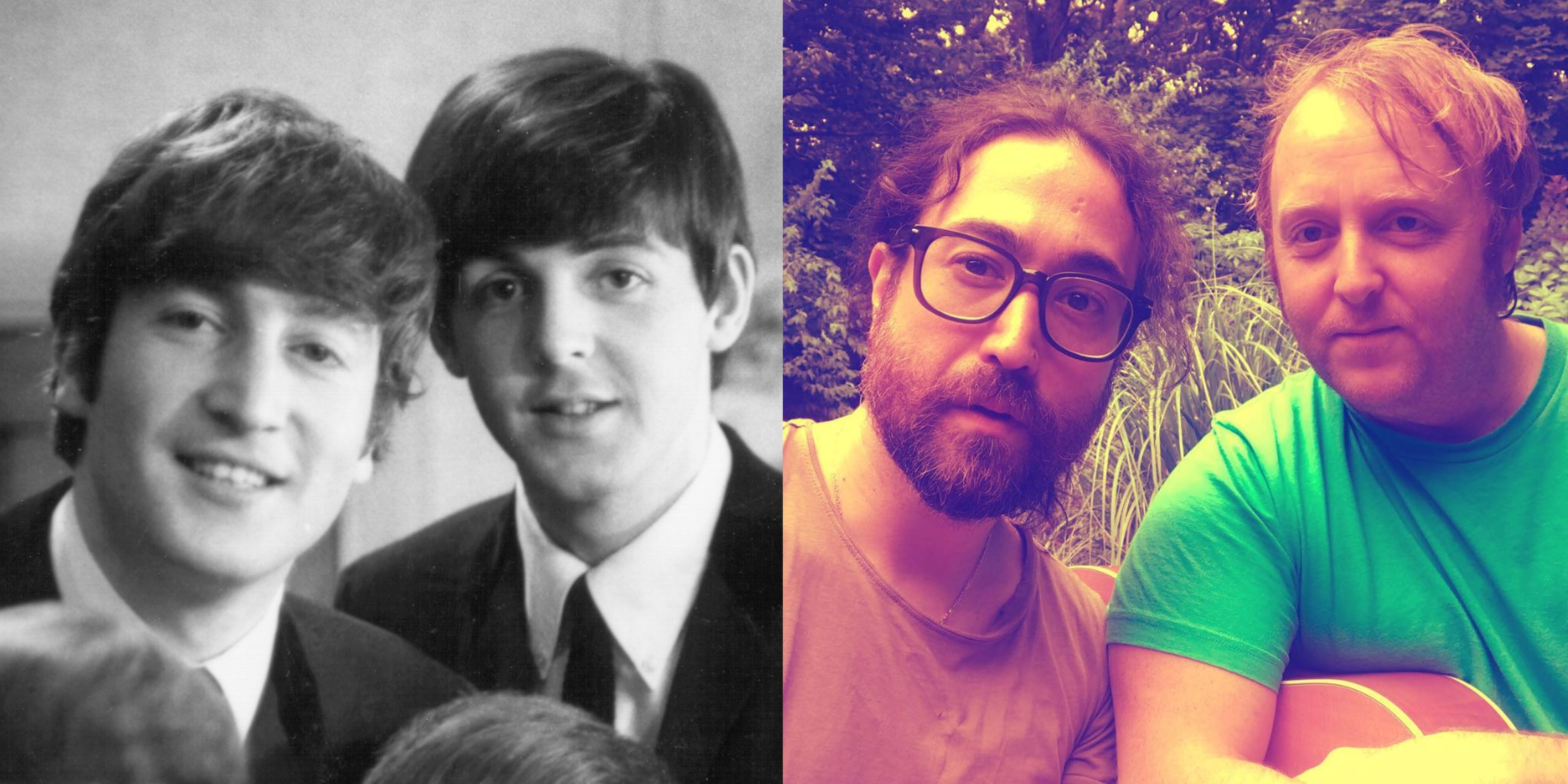 John Lennon And Paul McCartneys Sons Are Perfect Copies Of Their Dads In This New Photo