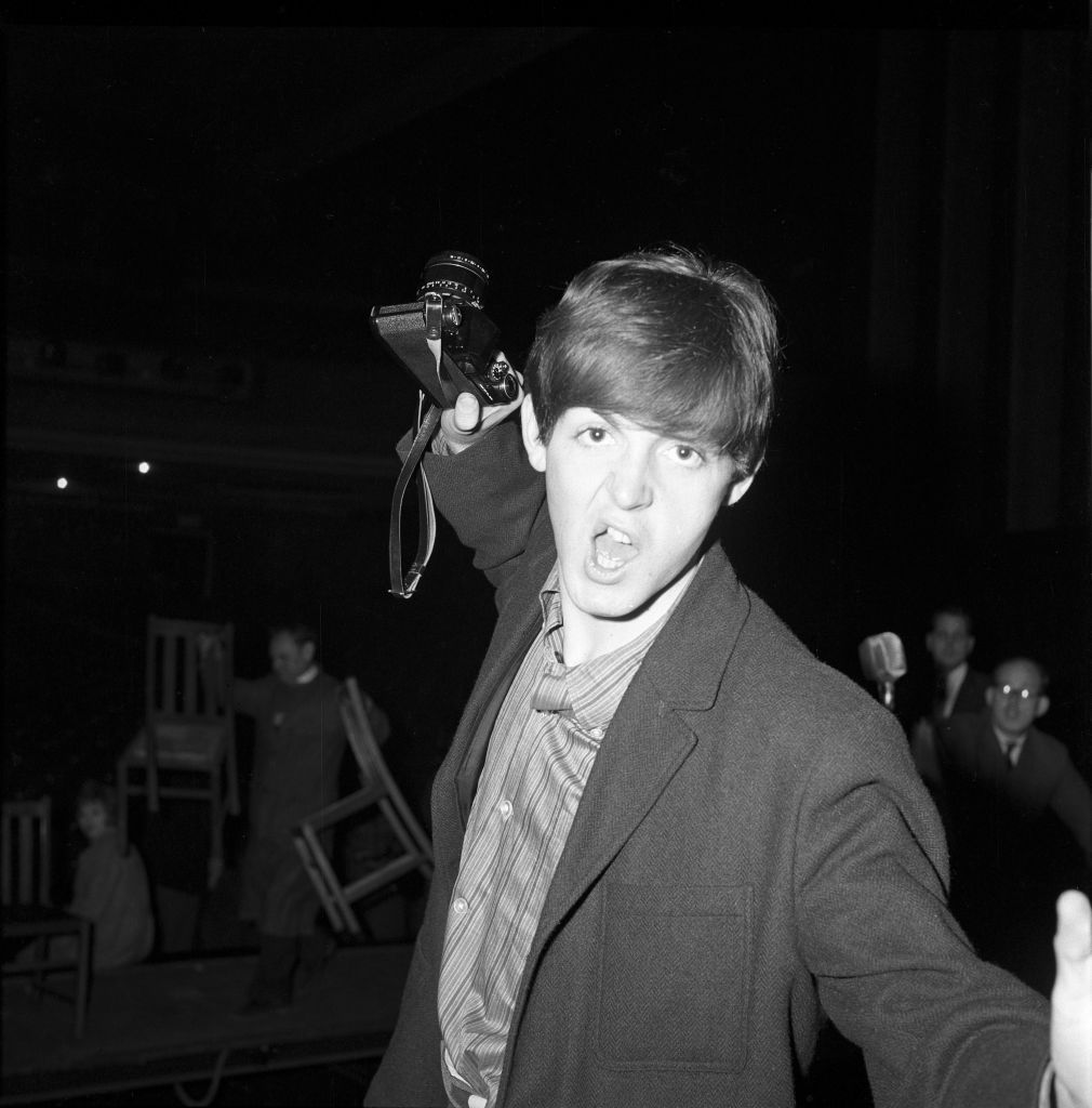 Paul McCartney at 21 Here's McCartney three years after his first gig with a band of unknowns called The Beatles.