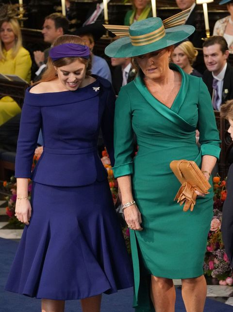b66e6d3f573 Sarah Ferguson s bag at the royal wedding was a super sweet tribute ...