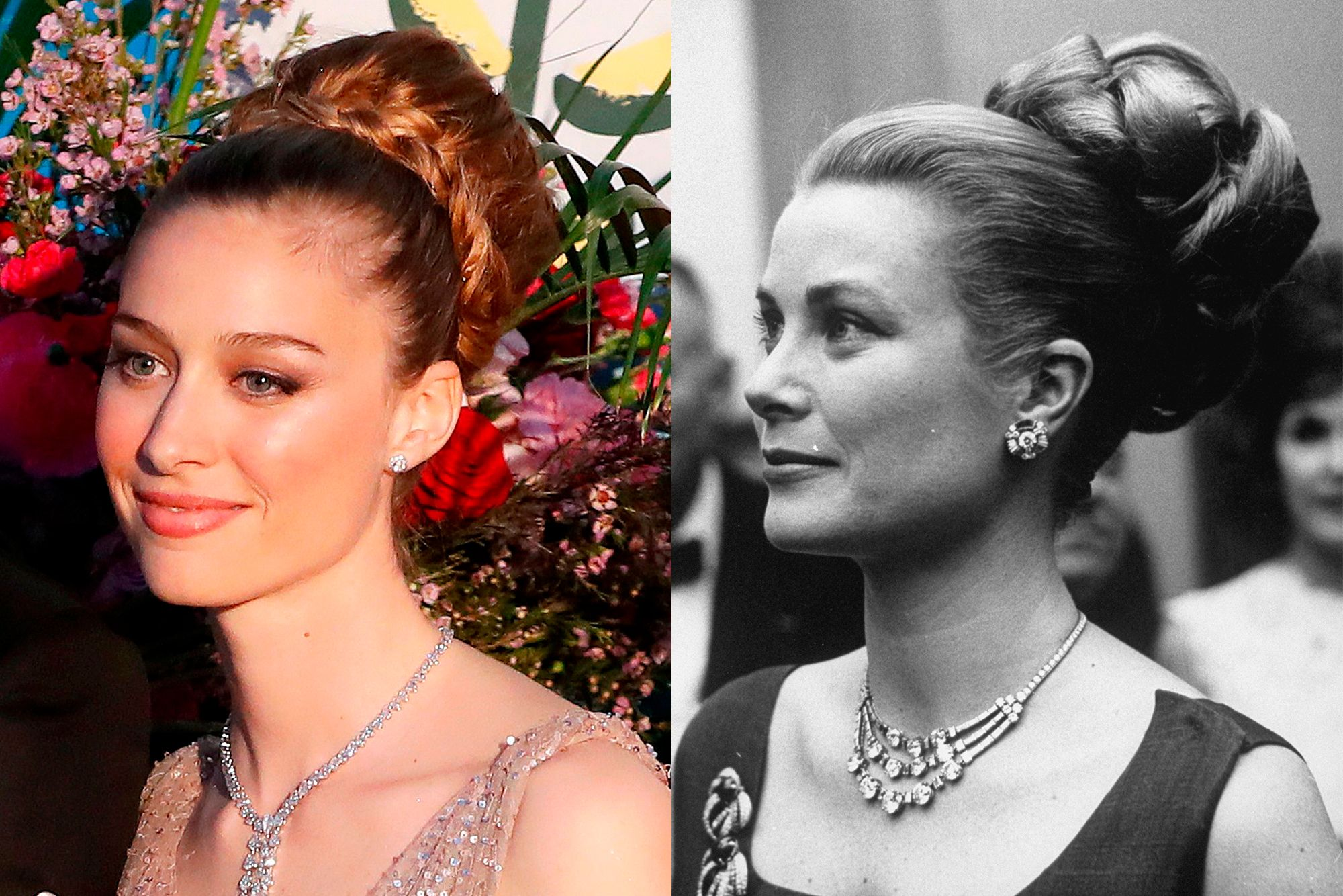 Beatrice Casiraghi, wife of Grace Kelly's grandson Pierre Casiraghi , paid tribute to the late princess by echoing her iconic hairstyle.