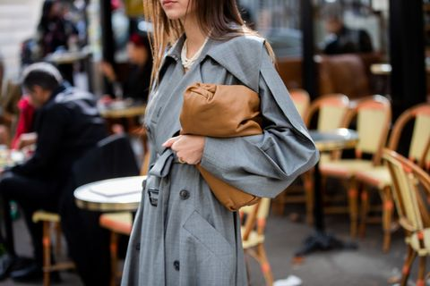 Street Style : Paris Fashion Week - Womenswear Spring Summer 2020 : Day Six