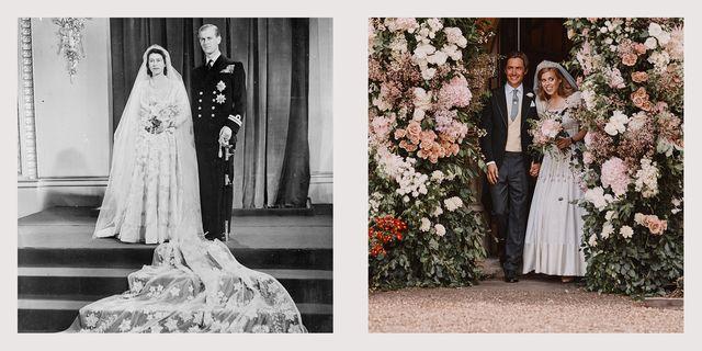 princess beatrice wedding vs queen elizabeth wedding