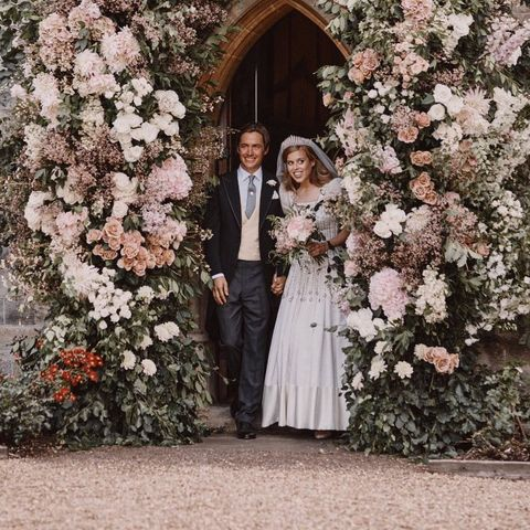 Princess Beatrice Got Her Vintage Wedding Gown From The Queen
