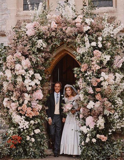 beatriz de york y edoardo mapelli en su boda