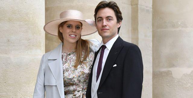 beatriz de york, junto a su marido edoardo mapelli, en una foto de archivo