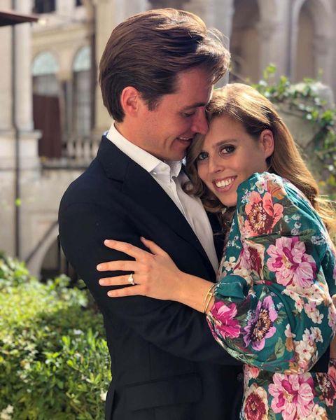 Beatriz de York prometido Edoardo Mapelli Mozzi