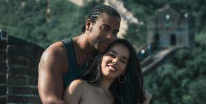 Beatriz Luengo y su marido Yotuel Romero