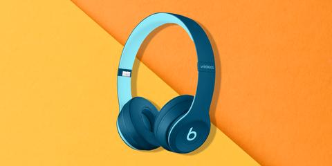 Headphones, Blue, Gadget, Audio equipment, Azure, Aqua, Turquoise, Output device, Technology, Electronic device,