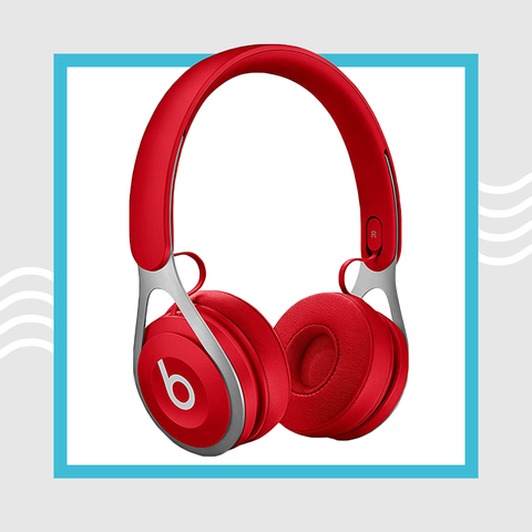 Headphones, Red, Gadget, Audio equipment, Technology, Electronic device, Audio accessory, Headset,