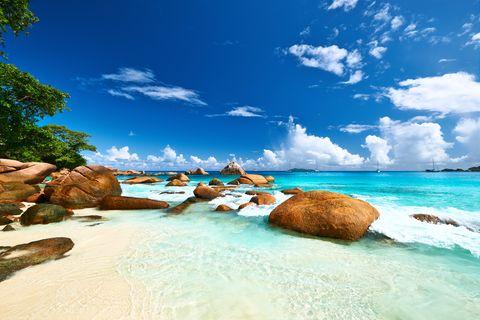 best beaches in the world -Seychelles