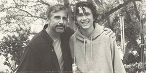 beautiful boy movie poster steve carell timothee chalamet