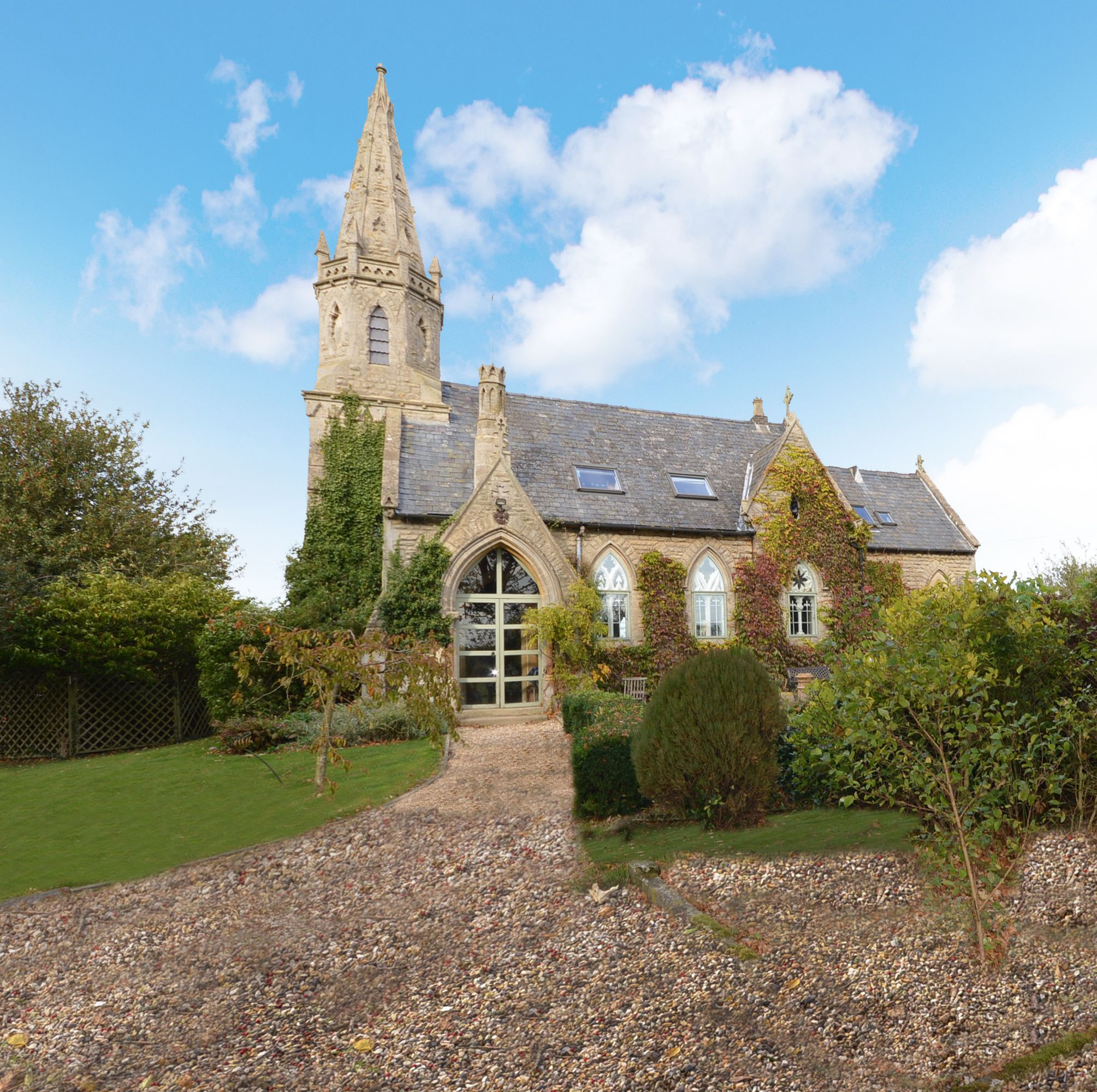 Beautiful three-bedroom converted Victorian church for sale in Lincoln