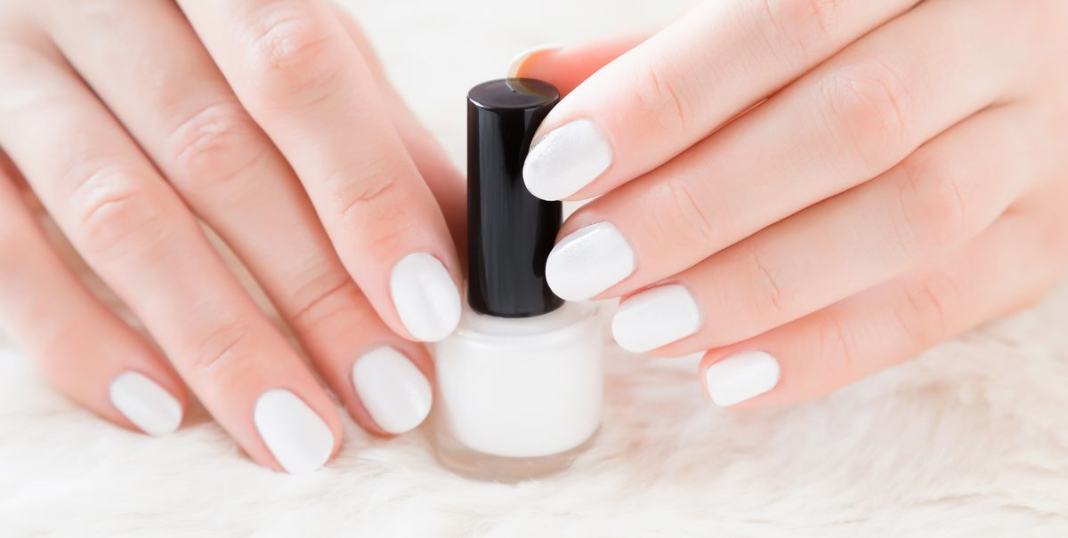 11 Best White Nail Polish Colors - Trendy White Shades for Nails 2020