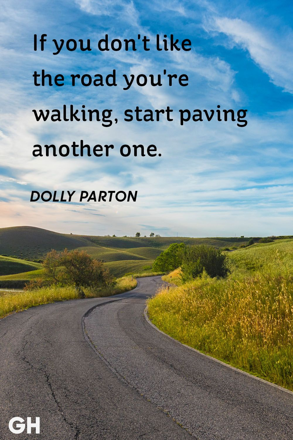 Image of: Old Sayings Dolly Parton Beautiful Life Quote Good Housekeeping 30 Inspirational Quotes About Life Beautiful Famous Life Quotes