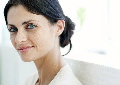Smiling dermatologist