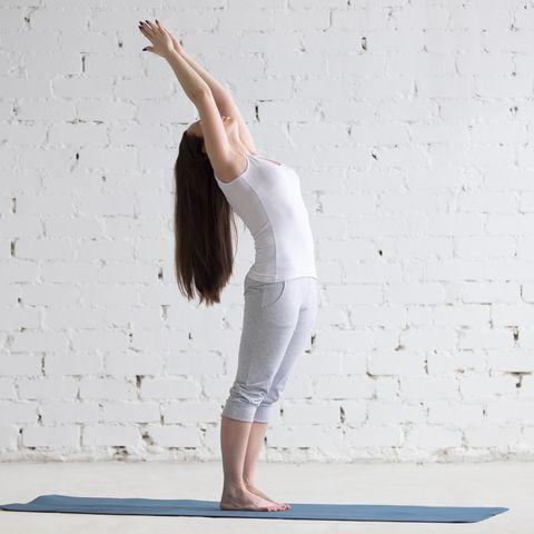 9 yoga stretches to release postrun tension