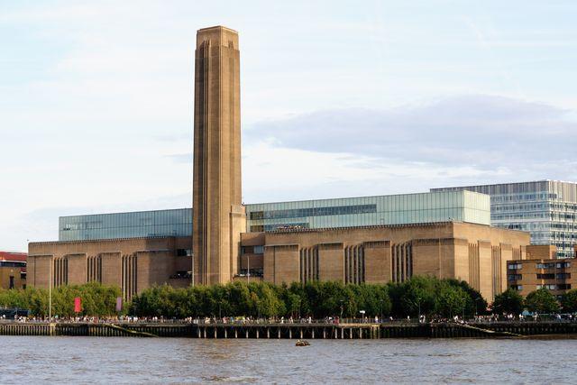 beautiful view of tate modern, london, england