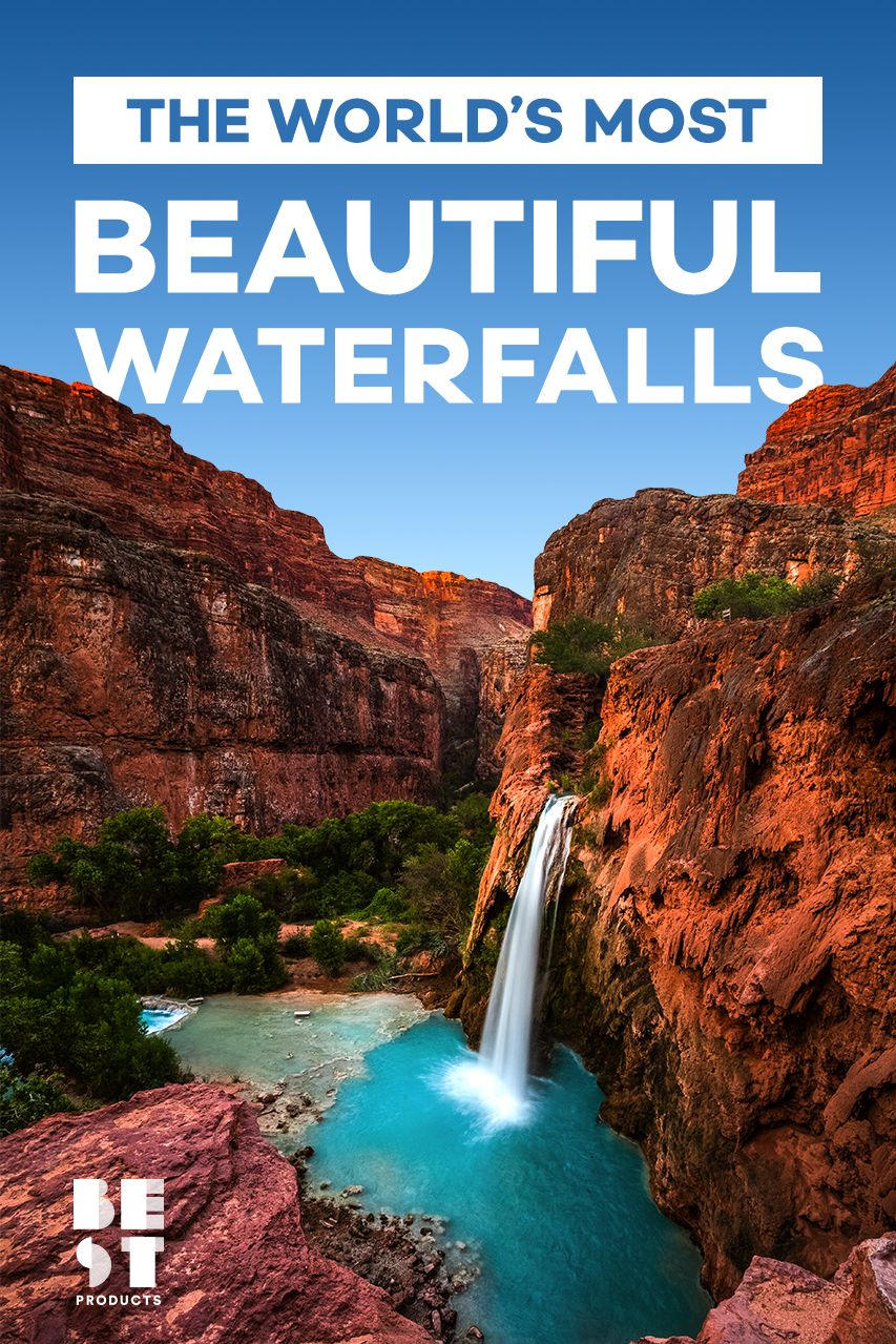 13 Most Beautiful Waterfalls In The World