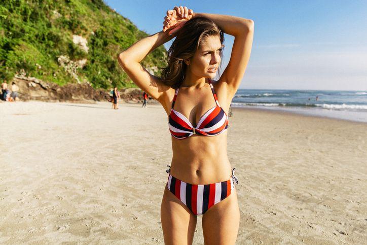 Pictures very young bikini wax