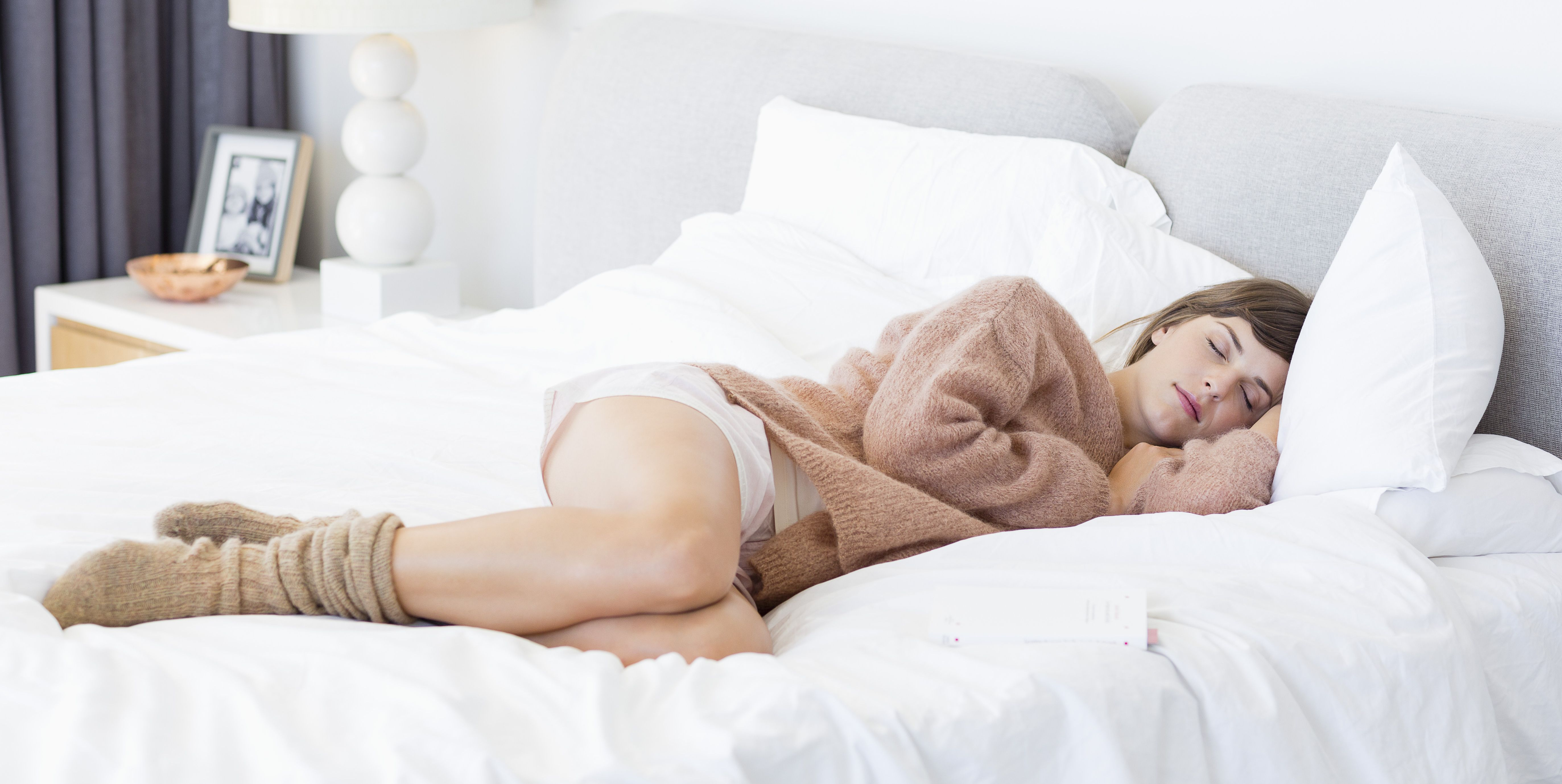 slapen-met-sokken