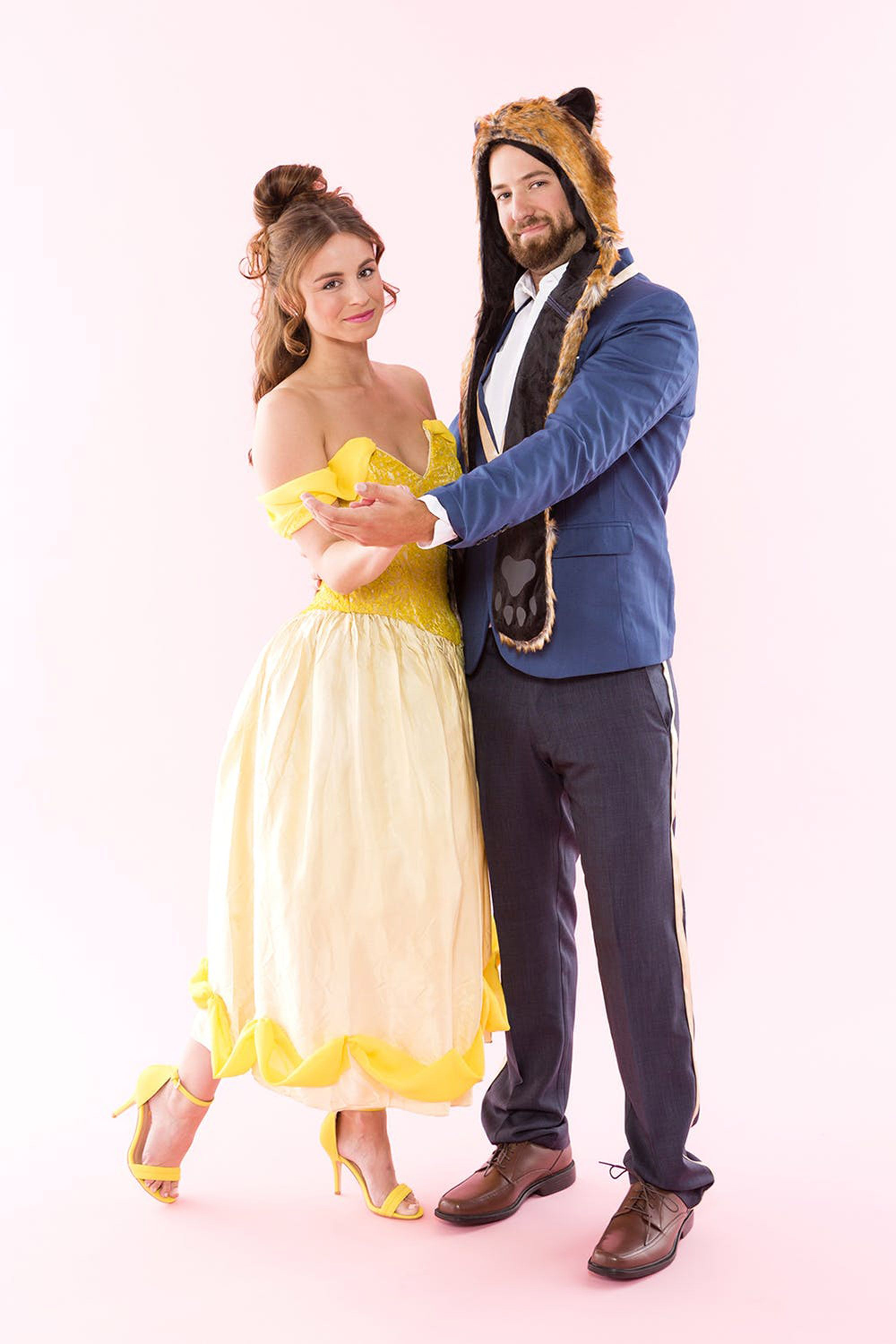 12 diy and store bought beauty and the beast and belle halloween costumes