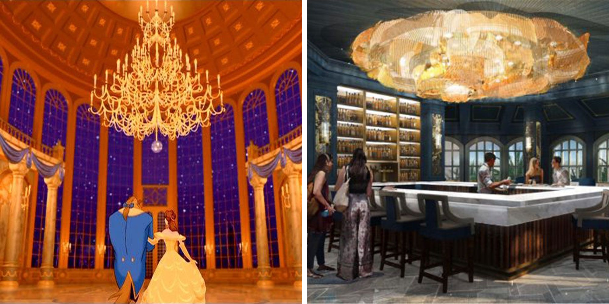 A 'Beauty and the Beast' Bar Is Coming to Disney and You Don't Even Need a Park Ticket to Visit
