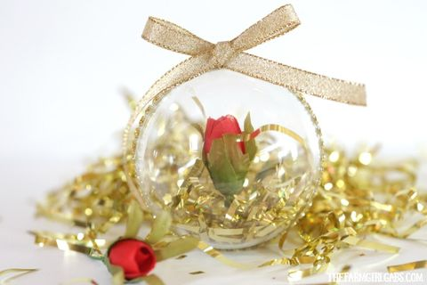 beauty and the beast christmas ornaments