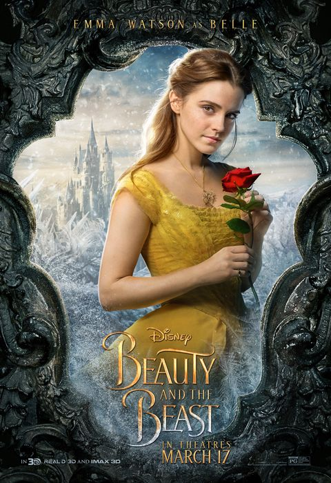 Beauty And The Beast Poster Courtesy Of Disney