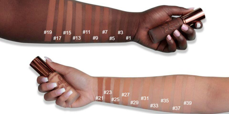 beauty bakerie demi matte foundation shade range