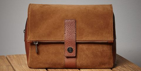 Tan, Leather, Bag, Brown, Beige, Fashion accessory, Wallet, Caramel color, Box, Rectangle,